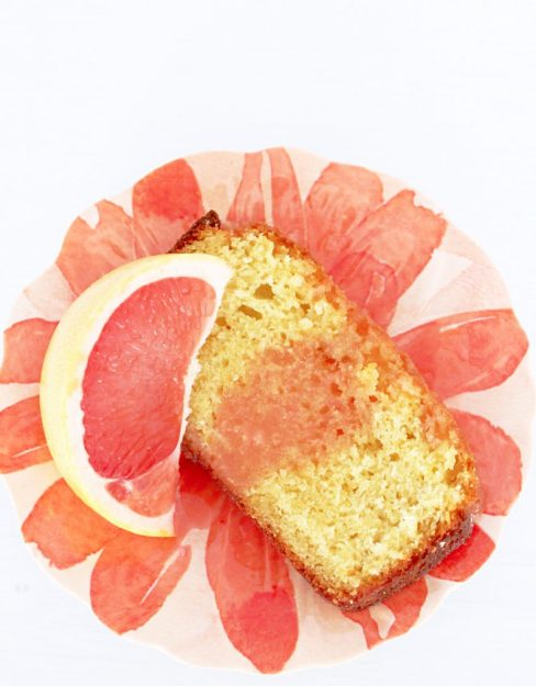 Ruby Red Grapefruit Loaf Cake by Foodtastic Mom