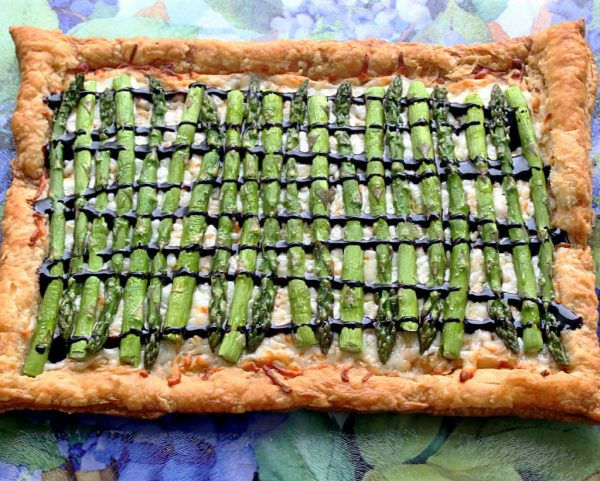 Simple Asparagus Tart by Foodtastic Mom