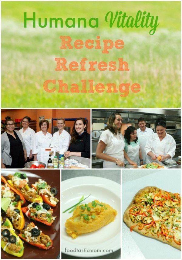 Humana Vitality Recipe Refresh Challenge