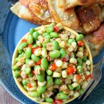 Corn and Edamame Sesame Salad