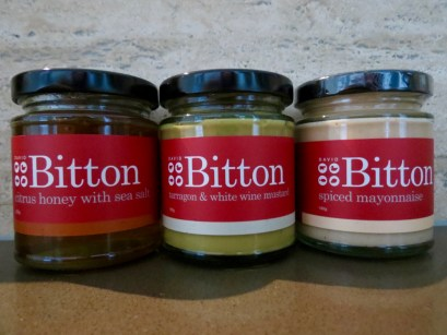 David Bitton jars in my kitchen