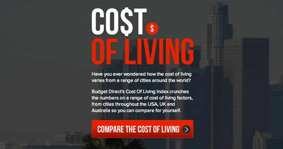 cost of living banner