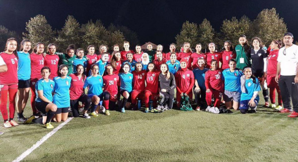 پیروزی تیم ملی بانوان افغانستان
