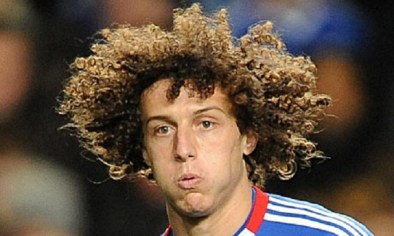 Ahh, everyone's favorite drunk-Brazilian, Sideshow Bob-impersonator David Luiz, whose flowing locks always seem to get a mention in any 'haircut' based list.