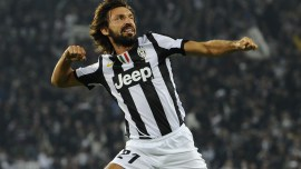 """Andrea Pirlo, Ufficiale OMRI (born 19 May 1979), is an Italian World Cup-winning footballer who plays for Serie A club Juventus and for the Italian national team. He is usually deployed as a deep-lying playmaker for both Juventus and Italy and is regarded as a leading exponent of this position. Praised for his technique, dribbling, control, incredible vision, inventive play and his accurate passing ability, he is also a set-piece specialist and is known for his long distance shooting and passing. Fellow players on the Italian team gave him the nickname l'architetto (""""the architect""""), because his long passes frequently set up goal-scoring opportunities for the Italy national football team. In recent years, Juventus fans also dub him il professore (""""the professor"""") and Mozart, as a fun reference to the Austrian composer's prodigious ability. Pirlo has played for the Italian youth teams U15, U18 and U21, captaining and leading the latter to victory in the 2000 UEFA European Under-21 Football Championship as the Golden Player and Top Scorer of the tournament. He joined the Italian senior side during the qualification round for World Cup 2002 and captained the national team to a bronze medal in the 2004 Olympics. Later, he was instrumental in their victory in the 2006 World Cup, finishing as the top assist provider. He was named man of the match three times, including the final, more than any other player in the tournament, and ultimately won the Bronze Ball (third best player in tournament) also being elected to be part of the Team of the Tournament. He was also elected as part of the Euro 2012 Team of the Tournament, after leading Italy to the final, winning three-man of the match awards in the process, the most of any player along with Andrés Iniesta."""