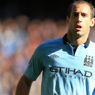 Pablo Zabaleta, The Manchester City fullback is one of the few City players who can actually say they had a good season.