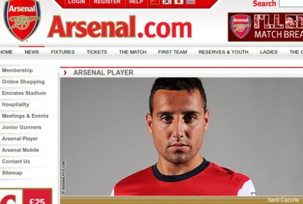 Official: Santi Cazorla signs for Arsenal