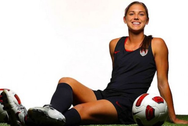 alex morgan2 Top 10 Hottest Women in Soccer