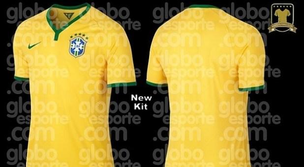New kit for Brazil