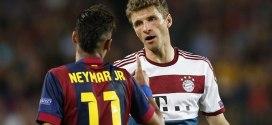 Neymar Vs Thomas Muller Stats, Goals, Assists Comparison