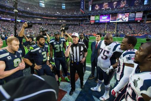 Coin toss  (Seattle Seahawks photo)