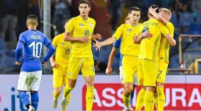 Италия - Украина: обзор и счет матча по футболу 10.10.2018, Контрольные матчи – Footboom.com