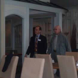 Dr Kaplan och han pappa Harold Kaplan