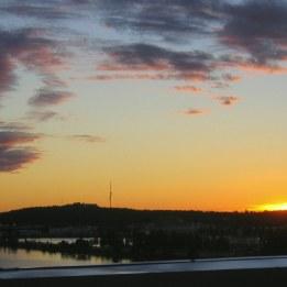 Midnattssol i Luleå