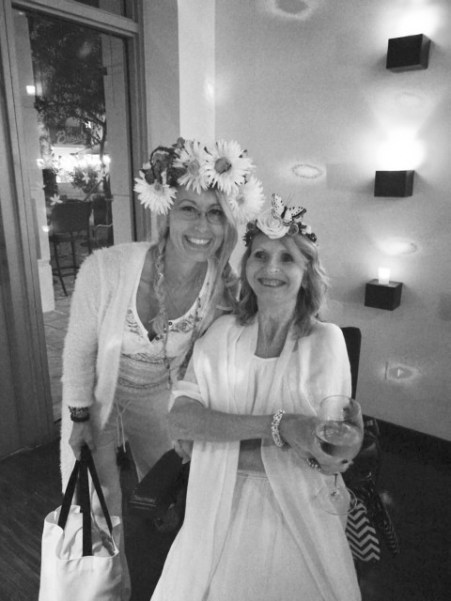 2018 Marie & Jeannie Peeper på FOP Mothers Retreat i Florida.