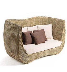 Madeira-Sofa