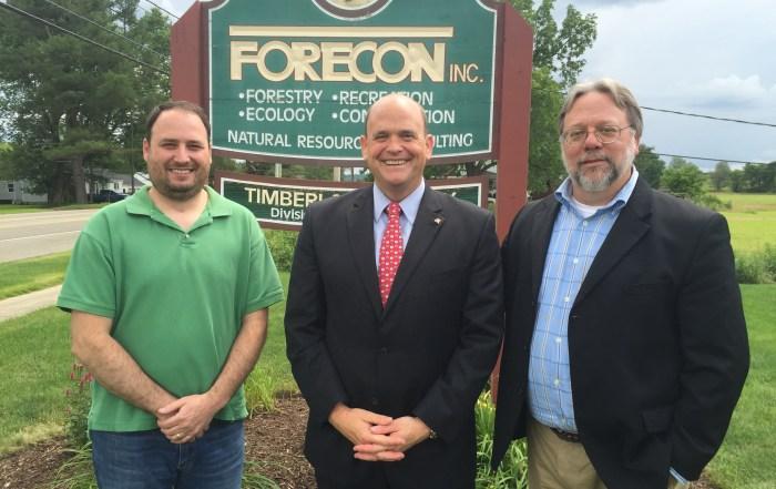 U.S Representative Tom Reed Visits FORECON, Inc.