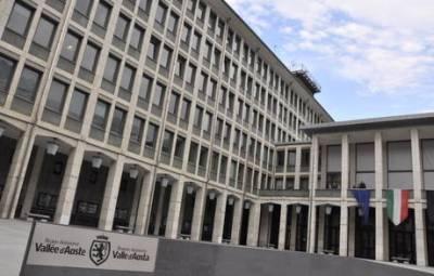 Il palazzo della Regione autonoma Valle d'Aosta