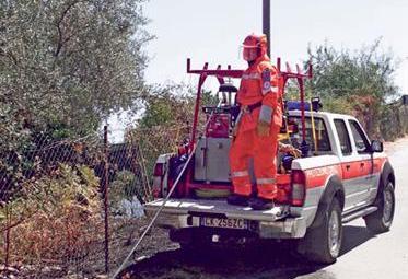 Pickup-anti-incendio