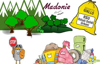 Rifiuti solidi sulle Madonie, qualcuno canta e qualcuno dorme ….