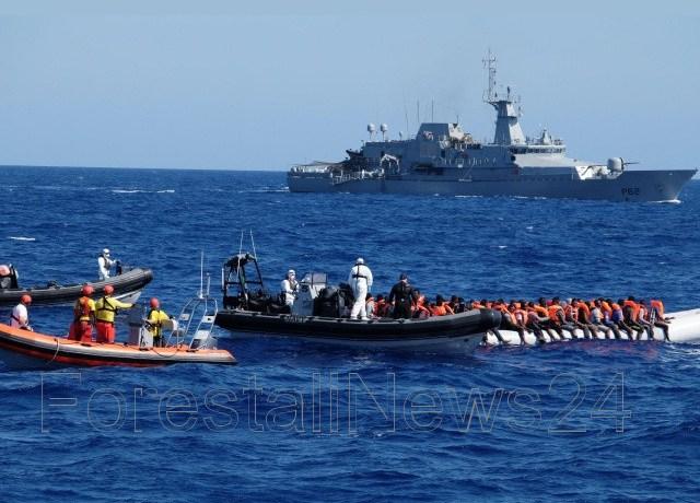 Salvini ferma 629 migranti a bordo della nave Acquarius diretta in Sicilia. Virare su Malta !