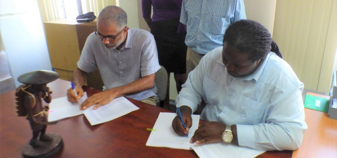 FCPC, Guyana signs first REDD+ Readiness Process Contract