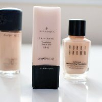 Foundation for Pale Skin | Illamasqua Skin Base Foundation in 02 - Review