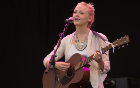 Demure and unassuming as ever, but with a new-found fire in her belly, Laura Marling commands the Obelisk Arena on Friday night.