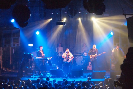 Camera Obscura live gig at Heaven