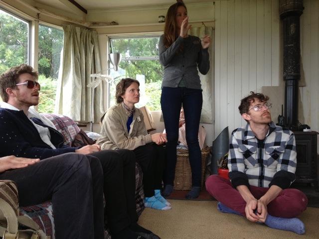 Devon Sproule tour blog Eigg