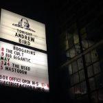 Andrew Bird. Electric Factory, 4/4/16