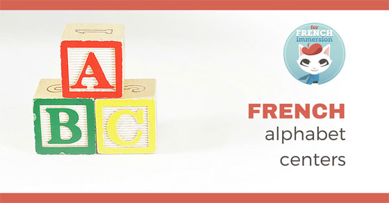 French Alphabet Centers: matching lowercase to uppercase letters and vice-versa, identifying initial letters of words, tracing letters, practicing abc order, and more! Centres de littératie - l'alphabet.