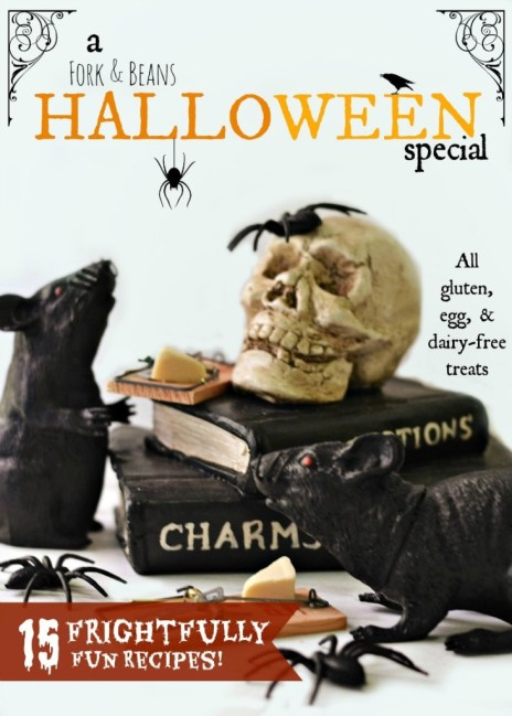 Halloween gluten egg and dairy free treats..