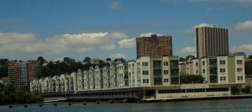 Modular housing on banks of New Jersey