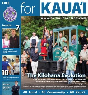 FOR KAUA`I July 2012 Cover