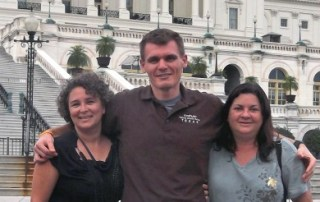 Friends at the Capitol