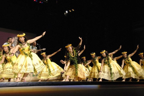 "Halau Hula o Leilani will present ""A Kaua`i Christmas"" on Sunday, Dec. 16. Photo courtesy of Darryl Low"