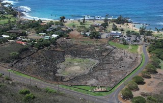 A makahiki arena is seen here at the center of the Kaneiolouma Complex fronting Po'ipu Beach. Photo courtesy of www.kaneiolouma.org