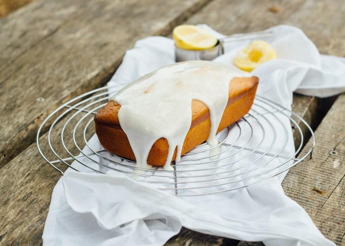 Lemon & Yogurt Olive Oil Cake