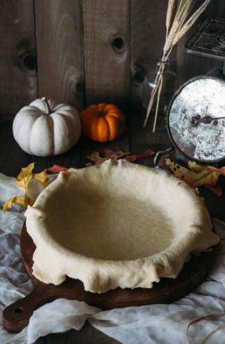 fork to belly pumpkin orange brulee pie