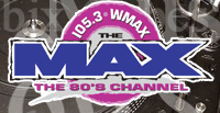 105.3 The Max WMAX 80's Hits Rick Dees MJ