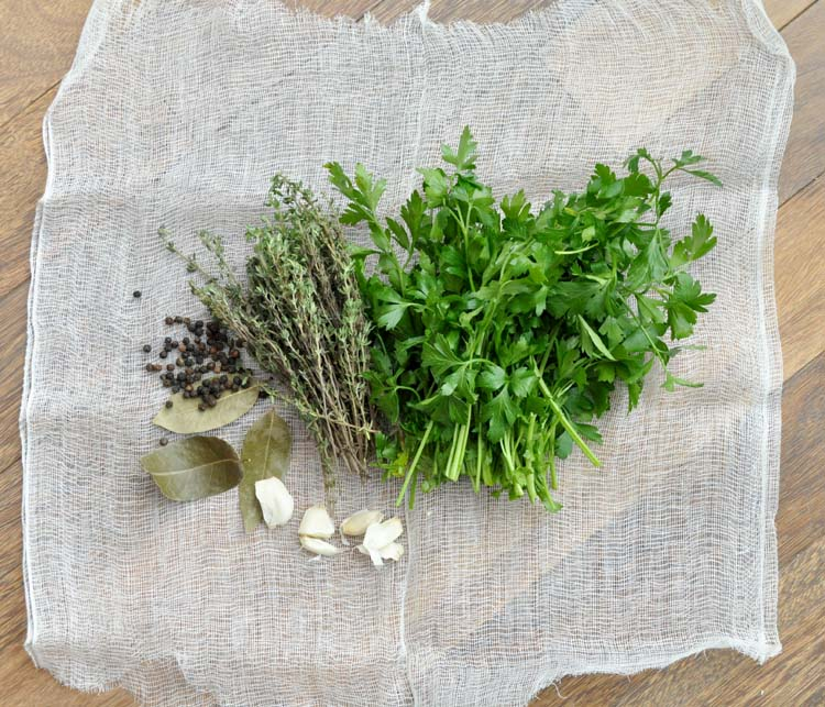 herbs for Veal Stock
