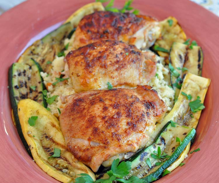 Berbere Spiced Chicken