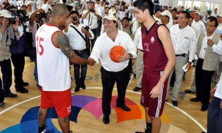 Se inaugura en Tuxpan, el centro deportivo más importante de Veracruz