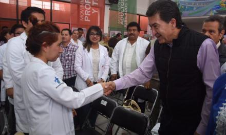 En mi gobierno habrá cobertura en servicios de salud al 100 %: Héctor Yunes