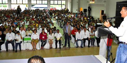 Más de mil 200 maestros tuxpeños, participaron en el primer Congreso de Participación Social en la Educación