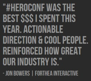 Hero Conference Forthea Interactive Marketing