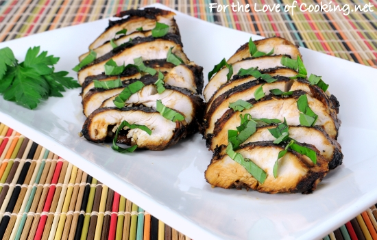 Paleo Balsamic Chicken Breasts