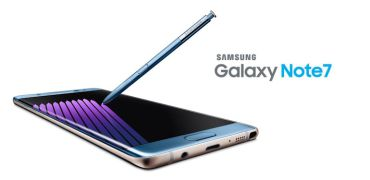 Samsung Releases Galaxy Note7-Header