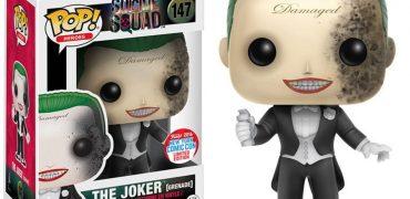 Grenade Damaged Joker Funko Figure From Suicide Squad Revealed